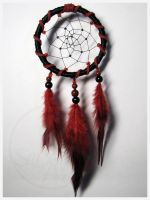 Red and Black - dream catcher by SaQe