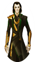 Oval Loki by arthorde