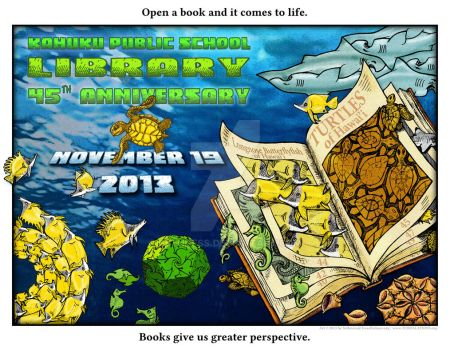 Library Poster Anniversary Declaration