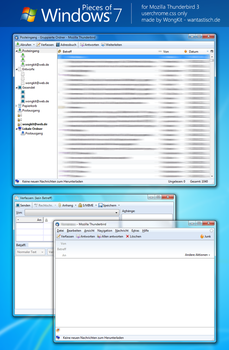 Pieces of Windows 7 for TB3 by WongKit