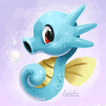 116 - Horsea by TsaoShin