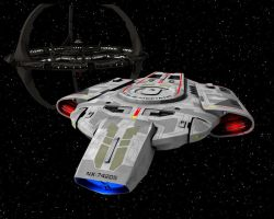 Deep Space 9 and The Defiant by Trekkie5000