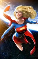 Supergirl by JPRart