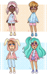 Cheap Casual Adopts [2/4 OPEN] by Mad-Akuma