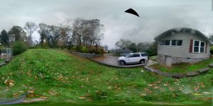 Second Panorama Attempt: Rainy Day Outdoors by R3Create