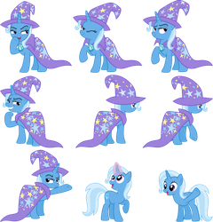 Trixie Vectors Set 20 by Jeatz-Axl