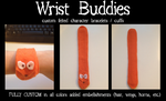 NEW ITEM - Wrist buddies by CasFlores