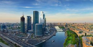 Moscow city by downsign