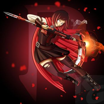 RWBY Part 1 - Ruby Rose by NoTraceComic