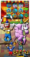 Circus theme slot machine by comicsINC