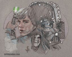 Luke Vader Emporerweb by Jeffherndraw