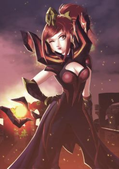 League of Legends - Elementalist Lux (Magma Form) by rextheone