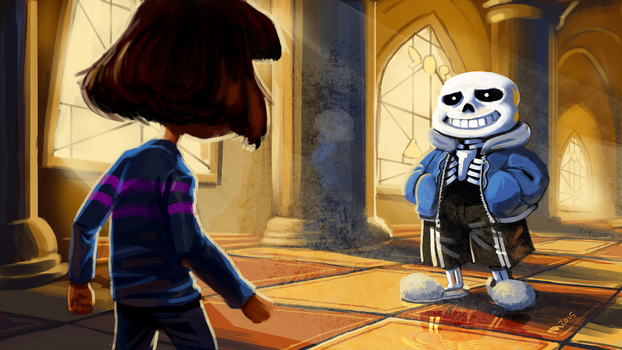 Undertale - You Will Be Judged by squidbunny