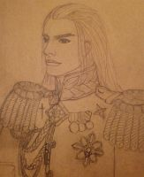 Fingon in full dress uniform by FromMidworld