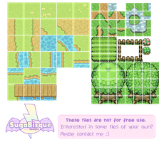 Pixel - Game tiles Examples by firstfear