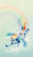 Free Sky (Rainbow Dash MLP) by fra-92