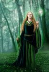 Priestess by woodland-lullaby