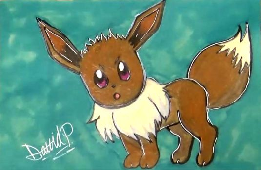 Eevee Drawing by MrJuniorer
