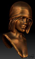 Girl Bust by Ethan2501