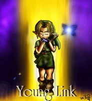Young Link by October-Shadows