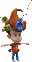 Jimmy Neutron (Globs of Doom) Model by CRASHARKI