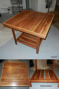 Cherry Dining Table by Sathiest-Emperor