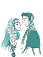 I would kiss you if i could by Danielle-chan