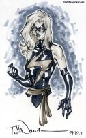 Ms. Marvel grayscale by ToddNauck