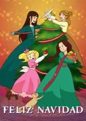 merry christmas - little women by ekara