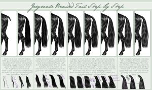 Braided Tail Step by Step by EscyKane