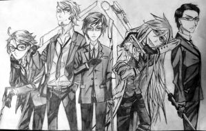 Black butler Death Gods by animefreak7353