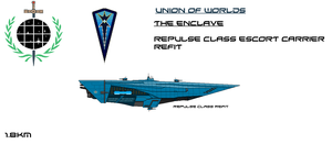 Enclave Repulse Class Union Refit by EmperorMyric