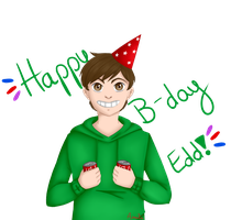 Happy B-day Edd! by AmitiArt