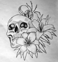 Skull Lilly Concept by soulstrifer