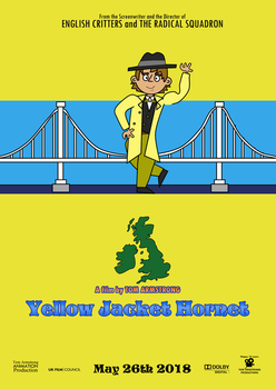Yellow Jacket Hornet - Teaser Poster by TomArmstrong20