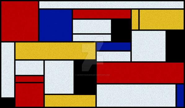 Mondrian by 4EverYoungKid