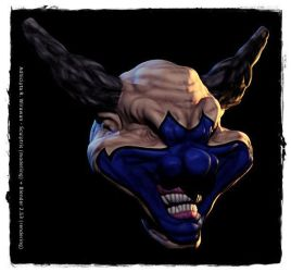 Clown from Spawn I by mechanimation