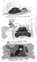 Modest Dark Knight by oo0shed0oo