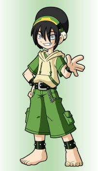 Modern Toph by rongs1234