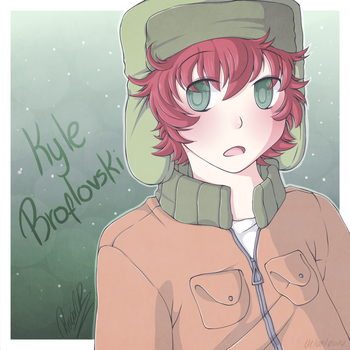 .:Kyle Broflovski After:. by PuRe-LOVE-G-S