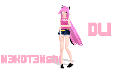 [MMD] N3k0t3nshi OFFICIAL (DL) by Lauraimon