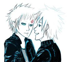 gaara naruto pchat by against-the-law