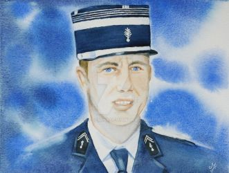 Tribute to Arnaud Beltrame by Emi-Gemini