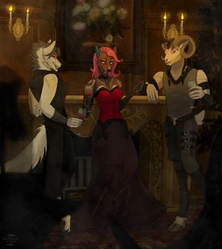 Bloody Party [CM] by NatalieDeCorsair