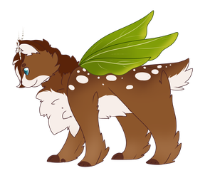 [ APPROVED | Mothcats ] Fawn by Gecko-Cat