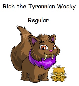Rich the Tyrannian Wocky by TannerxDelia