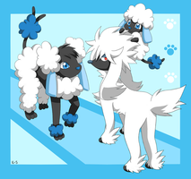 Furfrou, Spudle and Hydrudle