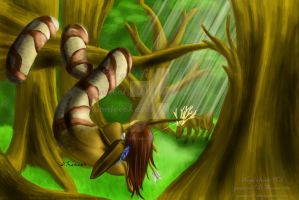 The Naga's forest by yamicool