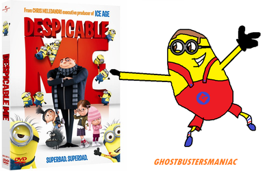 Despicable Me DVD is mine!!! by Ghostbustersmaniac