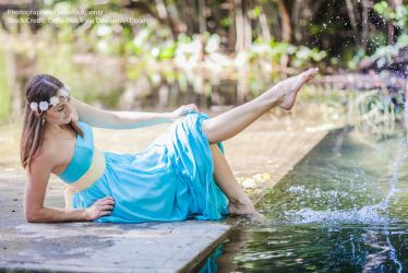 Water Goddess.7 by Della-Stock